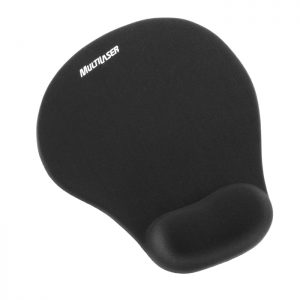 Mouse Pad Gel Preto – Multilaser AC021