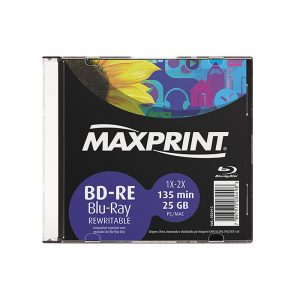 BD-­RE Slim Maxprint 25GB/135min 2x